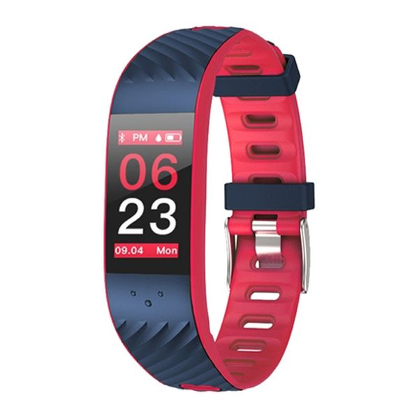 Activity-Armband BRIGMTON BSPORT-16-R 0,96 OLED Bluetooth Rot